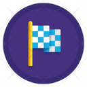 Finish Flag Flag Goal Icon