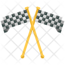 Finish Flags Checkpoint Icon