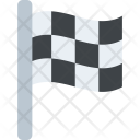 Sports Finish Symbol Icon