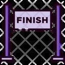 Finish Line Running Finish Line Running Icon
