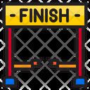 Finish Line Finish Finish Race Icon