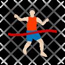 Finish Line Race Finish Icon