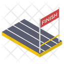 Finish Line Finish Race Goal Icon
