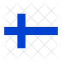 Finland Flag Country Icon