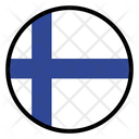 Finland Nation Country Icon
