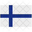 Finland Flag Nation Icon