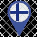 Finland Location Pointer Icon