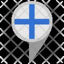Finland Tag Geo Icon