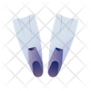 Fins Diving Equipment Diving Icon