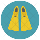 Fins Flippers Icon