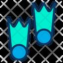 Swiming Swiming Game Swiming Fins Icon