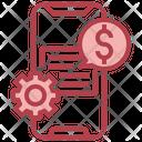 Fintech Financial Setting Financial Icon