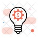 Innovative Idea Fintech Innovation Fintech Idea Icon