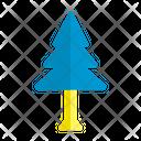 Fir Tree Christmas Icon