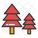 Fir Trees Christmas Icon
