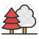 Forest Fir Trees Icon