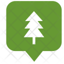 Fir Tree Location Icon