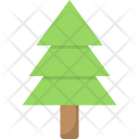Fir Tree Christmas Icon