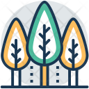 Trees Cypress Fir Icon