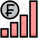 Firance Graph Earning Graph Money Icon