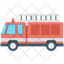 Fire Fighter Truck Icon