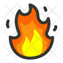 Fire Hot Flame Icon