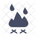 Fire Fireplace Kitchen Icon
