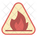 Fire Warning Flame Icon
