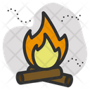 Fire Burn Pollution Icon