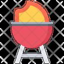Fire Grill Barbecue Icon