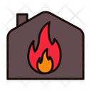 Fire Fire In Home Home Icon