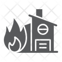 Fire Insurance Protection Icon