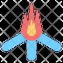Fire Adventure Passion Icon