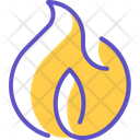 Fire Hot Hot Deal Icon