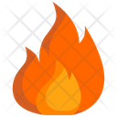 Fire Danger Sign Icon