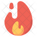 Fire Hot Offer Sale Icon