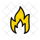 Fire Flame Burning Icon
