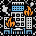 Fire Buildings Alarm Icon