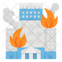 Fire Buildings Alarm Icon