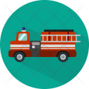 Fire Truck Transport Icon