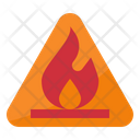Fire Flam Warning Icon