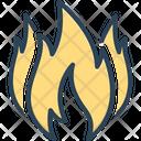 Fire Conflagration Bonfire Icon