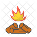 Fire Fireplace Campfire Icon