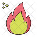 Fire Safety Disaster Icon