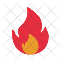 Burn Camping Fire Icon