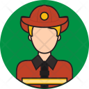 Fire Fighter Avatar Icon