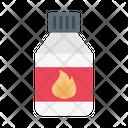 Fire Oil Bottle Icon