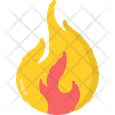 Fire Flame Light Icon