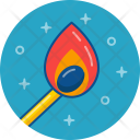 Fire Camping Adventure Icon