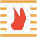 Fire Fireplace Hearth Icon